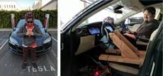 Хакеры смогли управлять автомобилем Tesla силой мысли