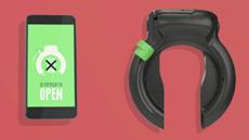 «Умный» замок блокирует смартфон во время движения велосипедиста