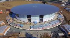 «Космический офис» Apple почти достроен