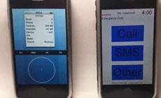 На видео показали два старых и страшных прототипа iOS