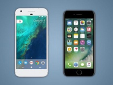 Google Pixel и iPhone 7 сбросили с высоты более 300 метров