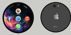 Концепт круглого iPhone