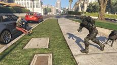 В GTA V добавили нанокостюм из Crysis 3