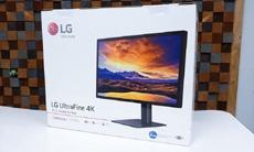 Распаковка и первый взгляд на монитор LG UltraFine 4K для новых MacBook Pro