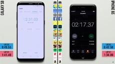 iPhone 6s выиграл у Galaxy S8 в тесте на производительность