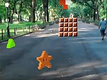 Энтузиаст воссоздал первый уровень Super Mario Bros. в дополненной реальности