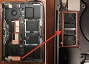 SSD-диск в MacBook Pro (2016) с Touch Bar оказался несъёмным