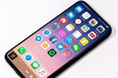 Слайд с презентации показал iPhone 8 с 5,8-дюймовым OLED-дисплеем и Touch ID
