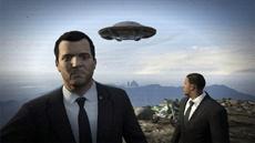 В GTA V обнаружены новые данные о продолжении игры про тайну горы Чилиад и инопланетян