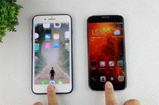 iPhone 7 Plus против Bluboo Edge: скорость работы сканера отпечатков пальцев