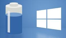 Как вернуть старое меню с информацией о батарее в панель задач Windows 10