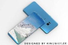 Еще один реалистичный концепт Samsung Galaxy S8