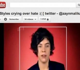 Новая кнопка на YouTube – «Я плакал»