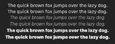 Проблемы интерфейсов будущего: Какие шрифты использовать в гаджетах