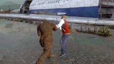 В GTA V обнаружили новую пасхалку сражения Снежного человека с Оборотнем