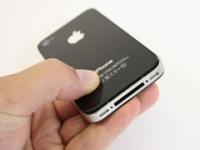 Apple спрячет антенну iPhone под логотип с яблоком