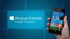 Сборка Windows 10 Mobile 15266 вышла в канале «Ранний доступ»