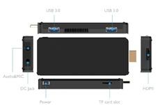 ПК-брелок BBen MN10 несёт на борту чип Intel Apollo Lake и 3 Гбайт ОЗУ