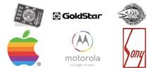 Как изменялись логотипы производителей телефонов