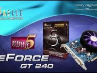 SPARKLE GeForce GT 240 с гигабайтом GDDR5 на борту