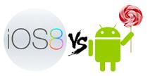 Преимущества Android 5.0 Lollipop перед iOS 8
