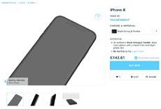 Напечатанные на 3D-принтере iPhone 8 продают по цене среднего Android-смартфона