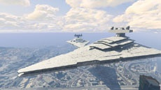 В GTA V обнаружили Звездный разрушитель Империи из «Звездных войн»