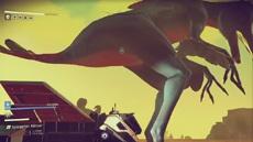 В No Man's Sky нашли гигантских инопланетян