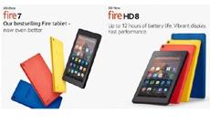 Amazon представила новые планшеты Fire с поддержкой Alexa