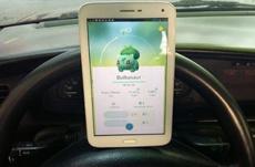 В Украине оштрафовали водителя за Pokemon Go