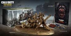 В коллекционное издание Call of Duty: WWII войдёт бронзовая статуя