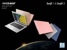 Acer представила тонкие ноутбуки Switch