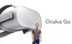 Цукерберг представил автономный шлем Oculus Go