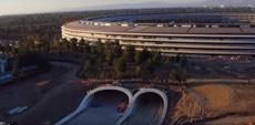 Энтузиасты продолжают полеты на дронах над Apple Park