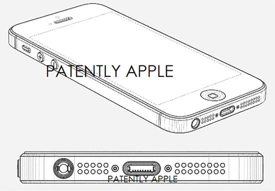 Apple получила патенты на дизайн Iphone 5 контроллер для наушников