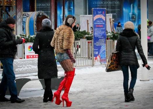 Фото девушек в вызывающей одежде фото 412-782