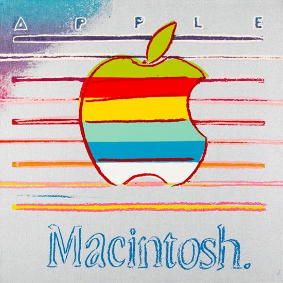 Стартовая цена лота составит $280 тысяч ...: internetua.com/skolko-mojet-stoit-kartina-s-cvetnim-logotipom-Apple