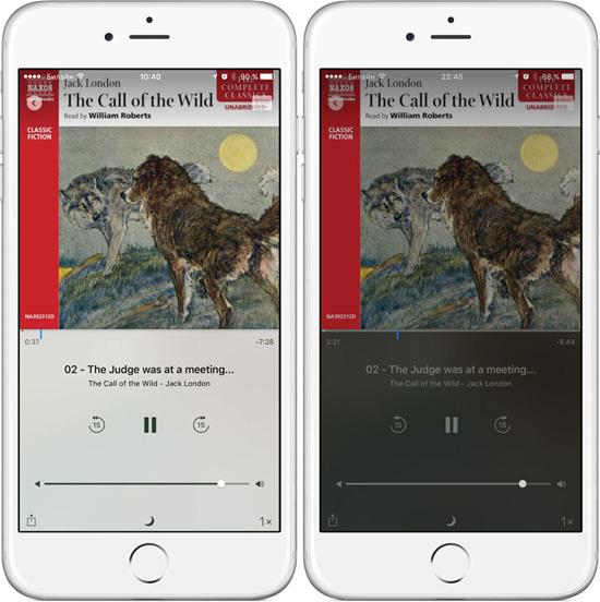 Проигрыватель для Аудиокниг  iPhone