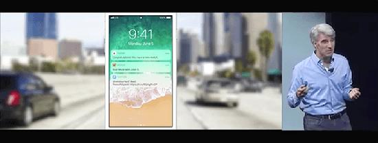 Apple показала на WWDC 2017 безрамочный iPhone?!