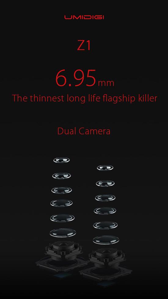 UMIDIGI Z1 получит AMOLED-дисплей и двойную камеру