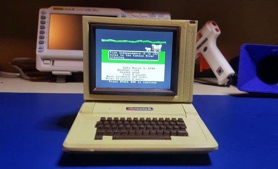 Самый маленький в мире Apple IIe работает на чипе за $9