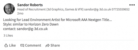 Microsoft планирует создать конкурента Horizon Zero Dawn
