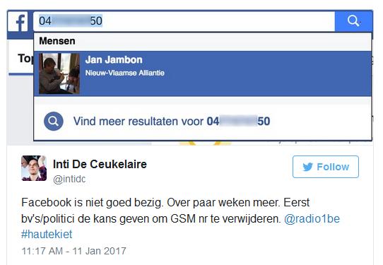 Уязвимость в Facebook позволяет узнать скрытые номера телефонов
