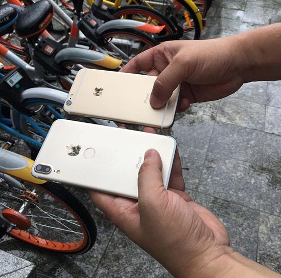 Клон iPhone 8 в металлическом корпусе и сканером Touch ID на задней панели стал хитом в Китае