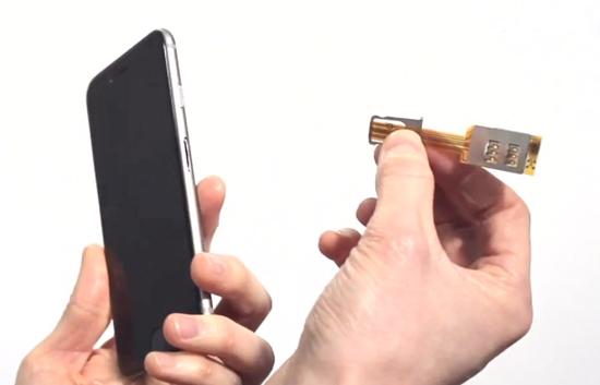 Как сделать телефон на две сим карты