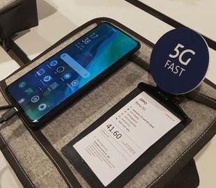 Малоизвестный китайский бренд представил первый 5G-смартфон в Европе