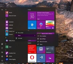 В Windows 10 May 2019 Update сохранятся предустановленные приложения