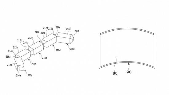 Огромные модульные ТВ Samsung станут гибкими