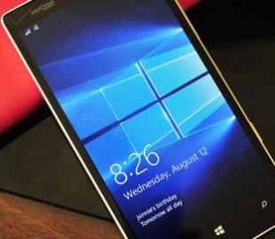 Microsoft выпустила обновление Windows 10 Mobile