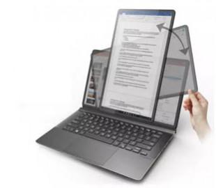 Создан ноутбук с вращающимся экраном